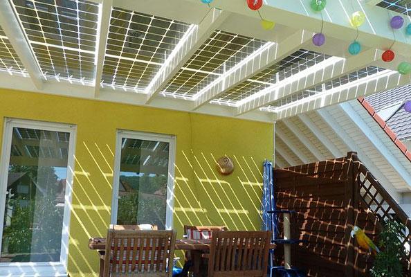 Solar Terrassendach
